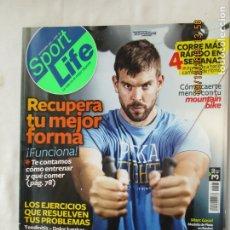 Coleccionismo deportivo: SPORT LIFE REVISTA Nº 161 SEPTIEMBRE 2012 RECUPERAR TU MEJOR FORMA , SUPERALIMENTOS QUE CURAN . Lote 176557619