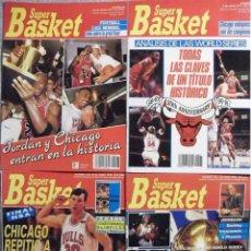 Coleccionismo deportivo: MICHAEL JORDAN & CHICAGO BULLS - REVISTAS ''SUPERBASKET'' (TÍTULOS DE 1991 Y 1992) - NBA. Lote 176792633