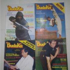 Coleccionismo deportivo: BUDOKA LOTE DE 17 REVISTAS ARTES MARCIALES EL BUDOKA. Lote 176965425