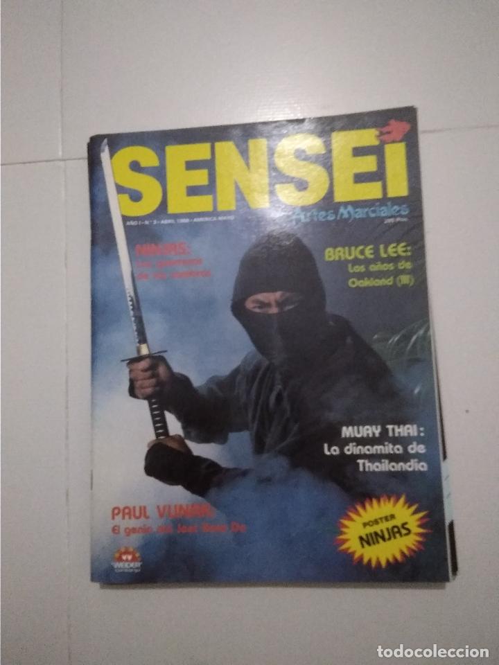 Coleccionismo deportivo: Sensei - revista Artes Marciales - lote 4 primeros numeros antiguas - Foto 2 - 176977739