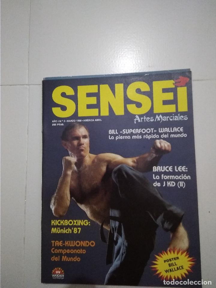 Coleccionismo deportivo: Sensei - revista Artes Marciales - lote 4 primeros numeros antiguas - Foto 5 - 176977739