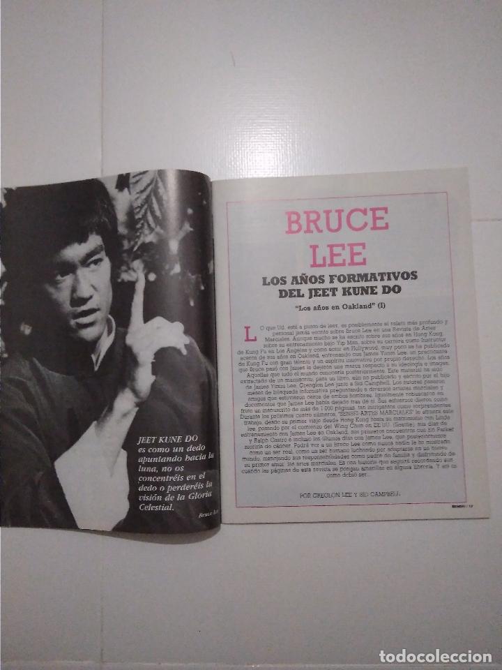 Coleccionismo deportivo: Sensei - revista Artes Marciales - lote 4 primeros numeros antiguas - Foto 6 - 176977739