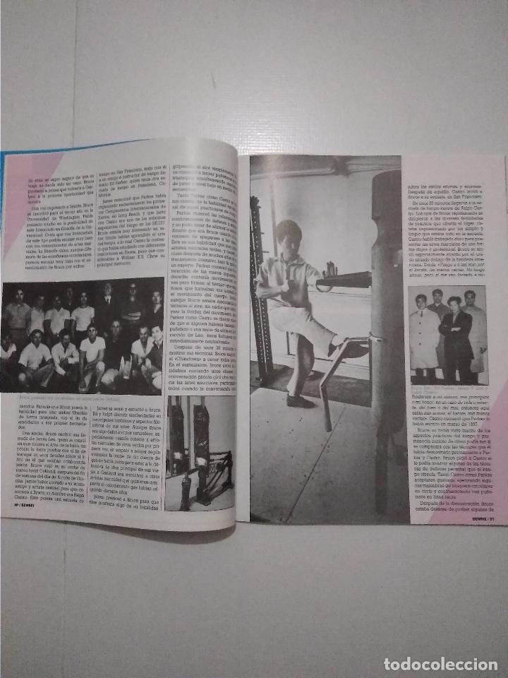 Coleccionismo deportivo: Sensei - revista Artes Marciales - lote 4 primeros numeros antiguas - Foto 7 - 176977739