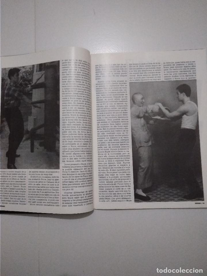 Coleccionismo deportivo: Sensei - revista Artes Marciales - lote 4 primeros numeros antiguas - Foto 8 - 176977739