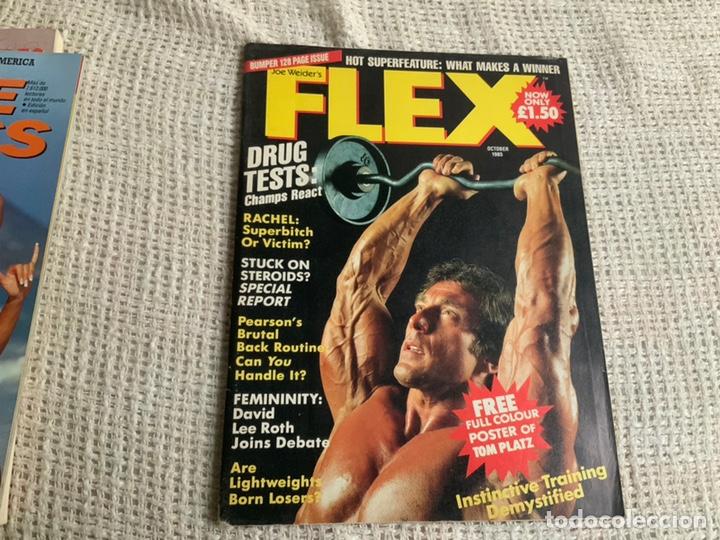 REVISTAS DE CULTURISMO - FLEX OCTOBER 1985 EDICION USA (Coleccionismo Deportivo - Revistas y Periódicos - otros Deportes)
