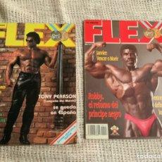 Coleccionismo deportivo: REVISTAS DE CULTURISMO, FLEX Nº 8 Y 13. Lote 177731584