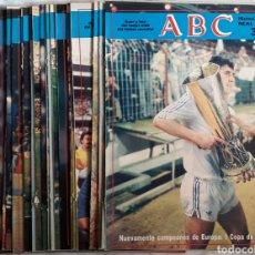 Coleccionismo deportivo: HISTORIA VIVA DEL REAL MADRID 28 FASCÍCULOS SUELTOS. Lote 177766905