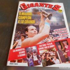 Coleccionismo deportivo: REVISTA GIGANTES DEL BASKET, Nº 124 (21 DE MARZO DE 1988), COPA KORAC: R. MADRID CAMPEÓN. Lote 177948374