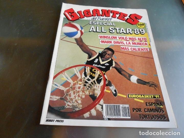 REVISTA GIGANTES DEL BASKET, Nº 213 (4 DE DICIEMBRE DE 1989), ESPECIAL ALL STARS 89 (Coleccionismo Deportivo - Revistas y Periódicos - otros Deportes)