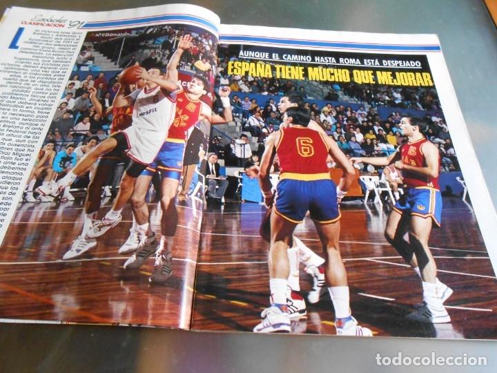 Coleccionismo deportivo: Revista GIGANTES DEL BASKET, Nº 213 (4 de diciembre de 1989), ESPECIAL ALL STARS 89 - Foto 2 - 178044129