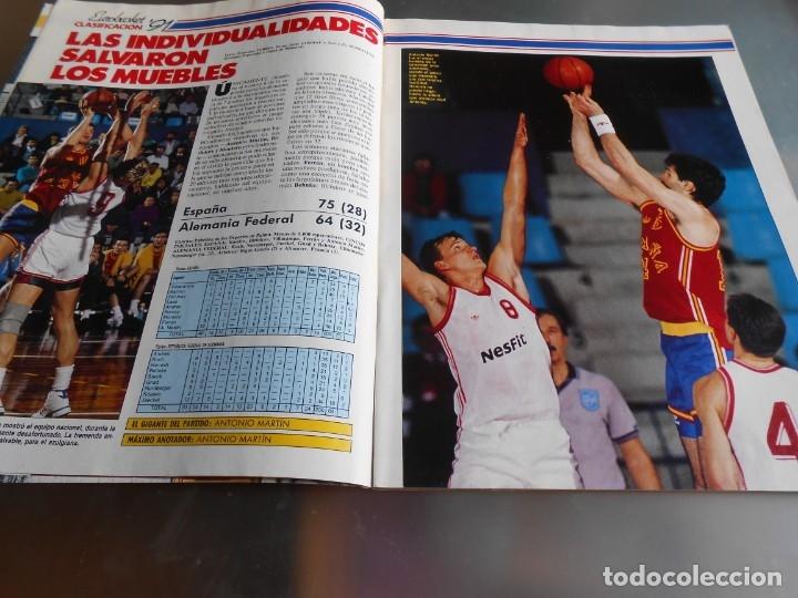Coleccionismo deportivo: Revista GIGANTES DEL BASKET, Nº 213 (4 de diciembre de 1989), ESPECIAL ALL STARS 89 - Foto 3 - 178044129