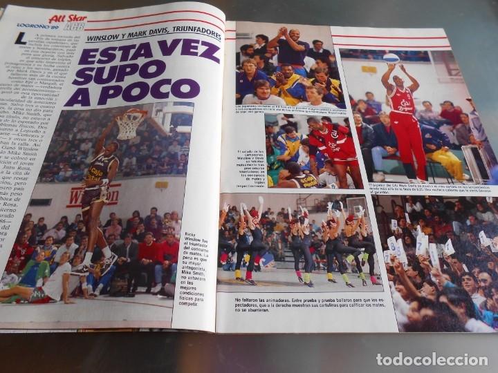 Coleccionismo deportivo: Revista GIGANTES DEL BASKET, Nº 213 (4 de diciembre de 1989), ESPECIAL ALL STARS 89 - Foto 4 - 178044129