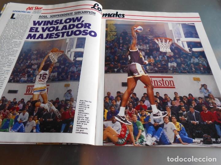 Coleccionismo deportivo: Revista GIGANTES DEL BASKET, Nº 213 (4 de diciembre de 1989), ESPECIAL ALL STARS 89 - Foto 5 - 178044129
