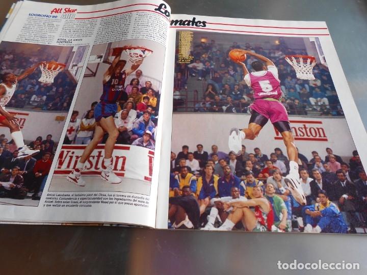 Coleccionismo deportivo: Revista GIGANTES DEL BASKET, Nº 213 (4 de diciembre de 1989), ESPECIAL ALL STARS 89 - Foto 6 - 178044129