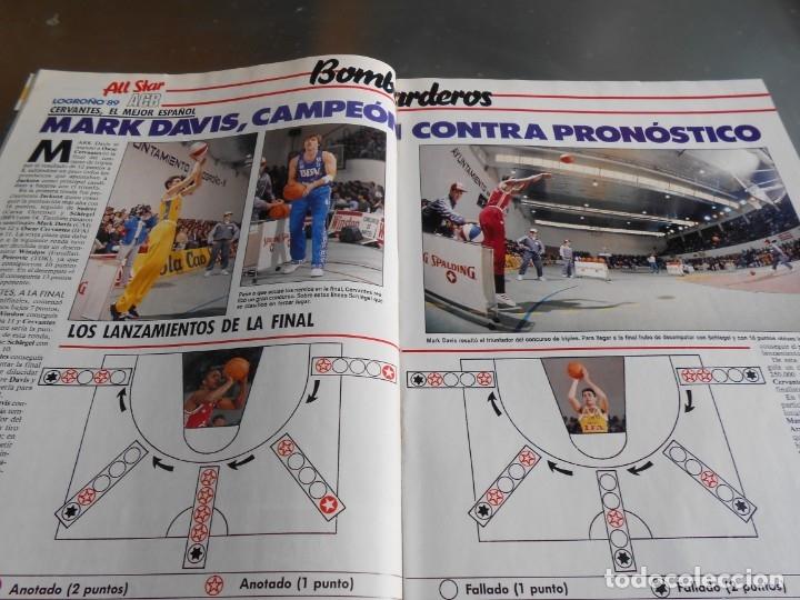 Coleccionismo deportivo: Revista GIGANTES DEL BASKET, Nº 213 (4 de diciembre de 1989), ESPECIAL ALL STARS 89 - Foto 7 - 178044129