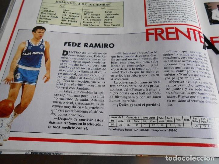 Coleccionismo deportivo: Revista GIGANTES DEL BASKET, Nº 213 (4 de diciembre de 1989), ESPECIAL ALL STARS 89 - Foto 8 - 178044129