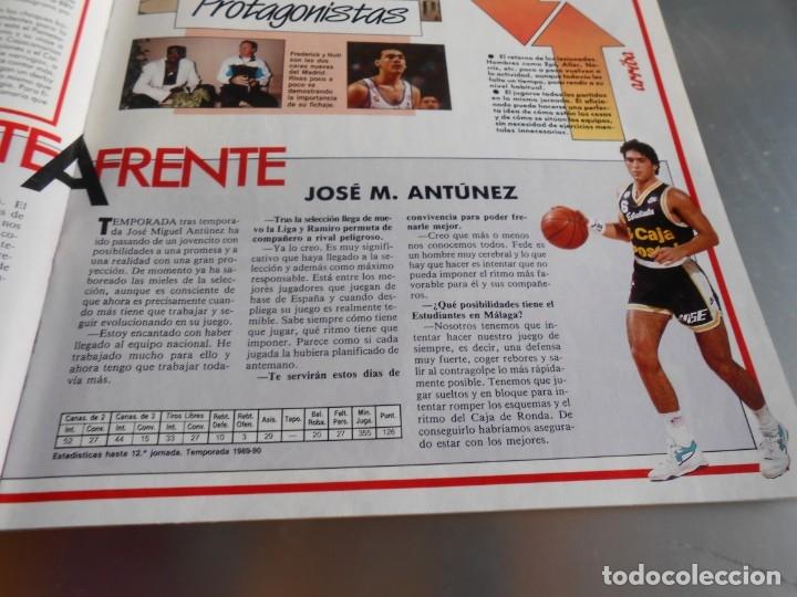 Coleccionismo deportivo: Revista GIGANTES DEL BASKET, Nº 213 (4 de diciembre de 1989), ESPECIAL ALL STARS 89 - Foto 9 - 178044129