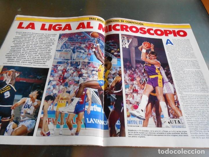 Coleccionismo deportivo: Revista GIGANTES DEL BASKET, Nº 213 (4 de diciembre de 1989), ESPECIAL ALL STARS 89 - Foto 12 - 178044129