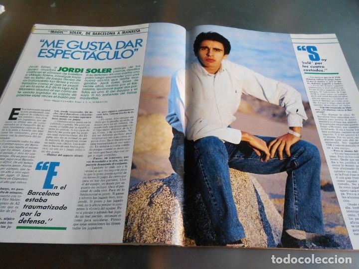 Coleccionismo deportivo: Revista GIGANTES DEL BASKET, Nº 213 (4 de diciembre de 1989), ESPECIAL ALL STARS 89 - Foto 14 - 178044129