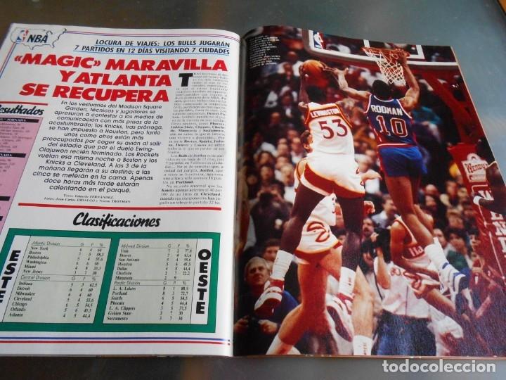 Coleccionismo deportivo: Revista GIGANTES DEL BASKET, Nº 213 (4 de diciembre de 1989), ESPECIAL ALL STARS 89 - Foto 15 - 178044129