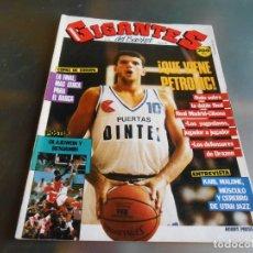 Coleccionismo deportivo: REVISTA GIGANTES DEL BASKET, Nº 122 (7 DE MARZO DE 1988), ¡ QUE VIENE PETROVIC !. Lote 178046144