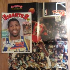 Coleccionismo deportivo: REVISTA GIGANTES DEL BASKET Nº 144 1988 POSTER GIGANTE MICHAEL JORDAN BULLS NBA MAGIC JOHNSON LAKERS. Lote 178059504