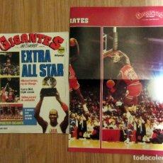 Coleccionismo deportivo: REVISTA GIGANTES DEL BASKET Nº 120 - 22 FEBRERO 1988 - POSTER GIGANTE MATE MICHAEL JORDAN ALL STAR. Lote 178059795