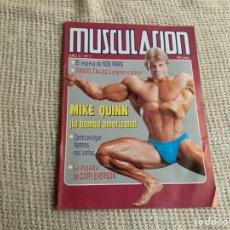 Coleccionismo deportivo: REVISTAS DE CULTURISMO - MUSCULACION Nº 7 MIKE QUINN. Lote 178728980