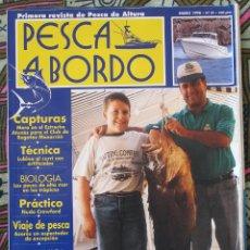 Coleccionismo deportivo: PESCA A BORDO Nº 29 ENERO-1998. Lote 179036832