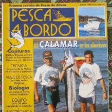Coleccionismo deportivo: PESCA A BORDO Nº 31 - MARZO 1998. Lote 179037031