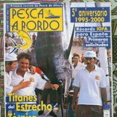 Coleccionismo deportivo: PESCA A BORDO Nº 52 - DICIEMBRE 1999. Lote 179038248