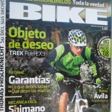 Coleccionismo deportivo: BIKE REVISTA Nº192 - SILLINES ERGONOMICOS 04-2008 . Lote 179552921