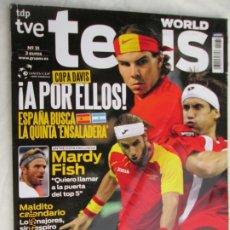 Coleccionismo deportivo: REVISTA WORLD TENIS Nº 31 - COPA DAVIS !A POR ELLOS¡ ESPAÑA BUSCA LA QUINTA ENSALADERA.. Lote 179553051