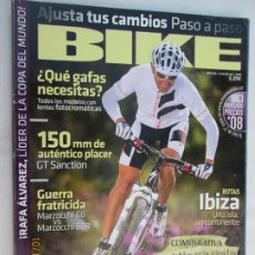 Coleccionismo deportivo: BIKE REVISTA Nº 194 06-2008 6 SUPER BICIS ¿ QUE GAFAS NECESITAS?. Lote 179553453