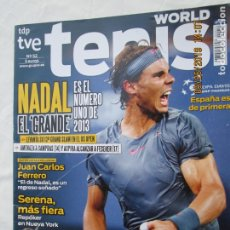 Coleccionismo deportivo: REVISTA WORLD TENIS Nº 52 - NADAL EL GRANDE. JUAN CARLOS FERRERO. SERENA MÁS FIERA. COPA DAVIS.. Lote 179553482