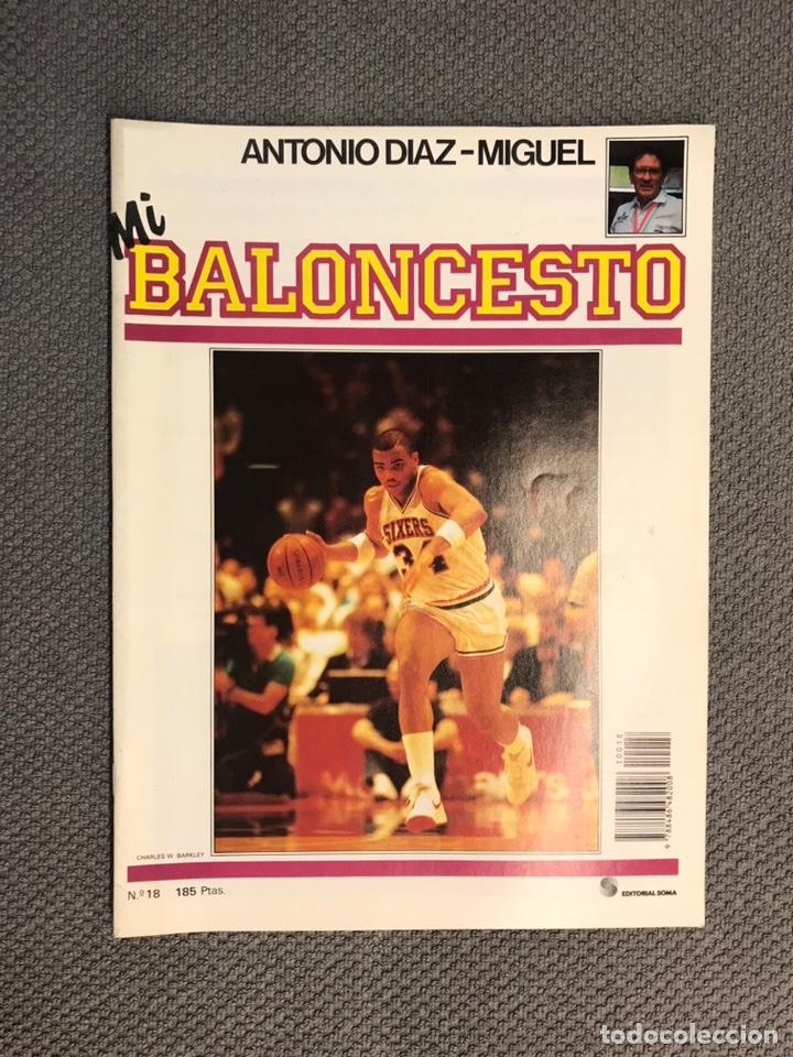 MI BALONCESTO, POR ANTONIO DÍAZ-MIGUEL. EDITA: ED. SOMA. NO.17, POSTER KELLOGG. (A.1985) (Coleccionismo Deportivo - Revistas y Periódicos - otros Deportes)
