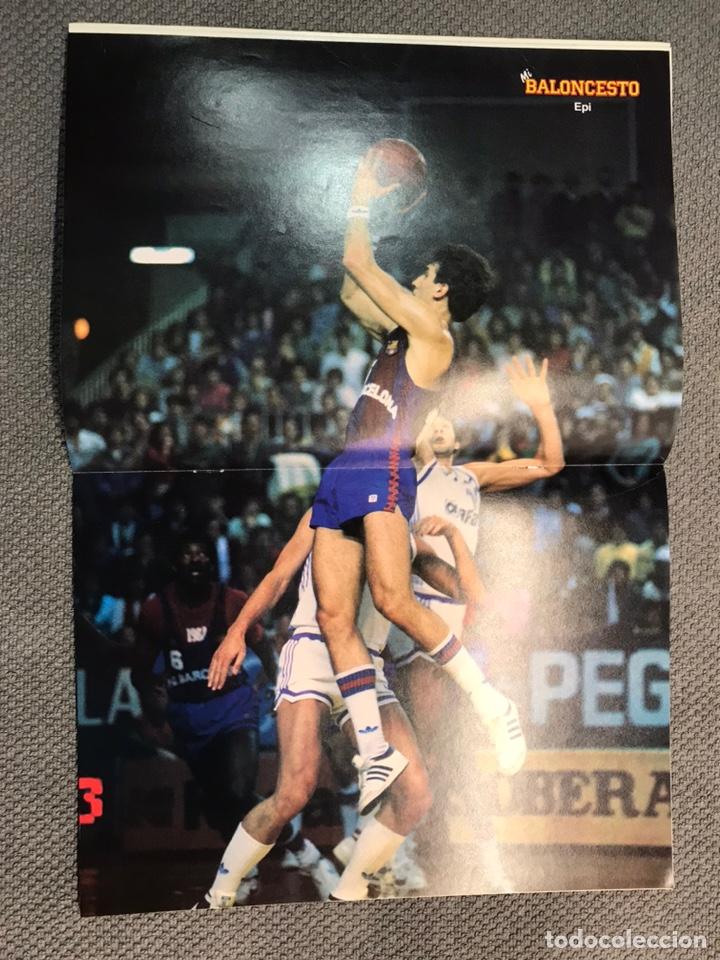 Coleccionismo deportivo: MI BALONCESTO, por Antonio Díaz-Miguel. Edita: Ed. SOMA. No.21, POSTER EPI. (a.1985) - Foto 2 - 179949951