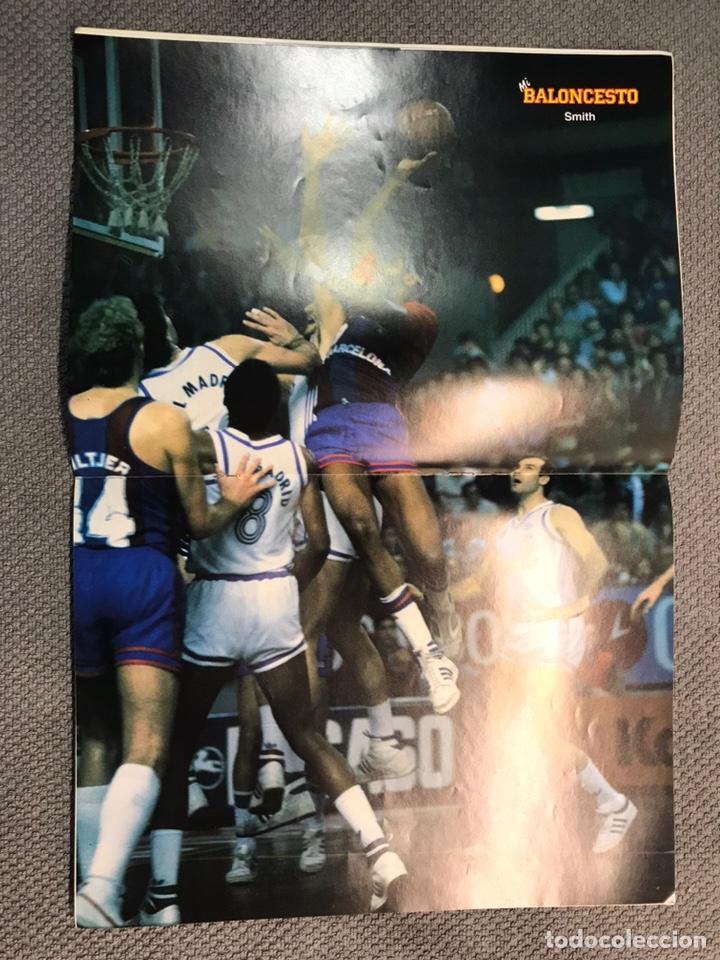Coleccionismo deportivo: MI BALONCESTO, por Antonio Díaz-Miguel. Edita: Ed. SOMA. No.30, POSTER, SMITH. (a.1985) - Foto 2 - 179953127