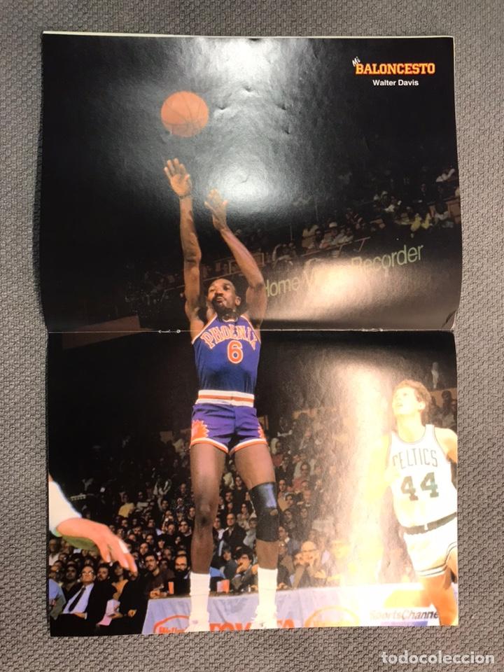 Coleccionismo deportivo: MI BALONCESTO, por Antonio Díaz-Miguel. Edita: Ed. SOMA. No.31, POSTER, WALTER DAVIS. (a.1985) - Foto 2 - 179953501