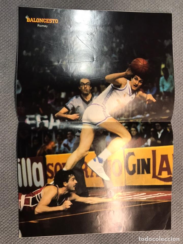 Coleccionismo deportivo: MI BALONCESTO, por Antonio Díaz-Miguel. Edita: Ed. SOMA. No.32, POSTER, ROMAY. (a.1985) - Foto 2 - 179953881