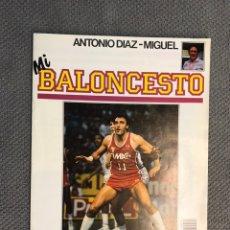 Coleccionismo deportivo: MI BALONCESTO, POR ANTONIO DÍAZ-MIGUEL. EDITA: ED. SOMA. NO.34, POSTER, MENEGHIN . (A.1985). Lote 179954312