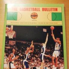 Coleccionismo deportivo: THE BASKETBALL BULLETIN. SPRING 1991 (NABC). Lote 179962580