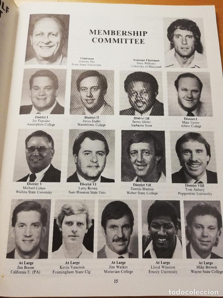 Coleccionismo deportivo: THE BASKETBALL BULLETIN. SPRING 1991 (NABC) - Foto 6 - 179962580
