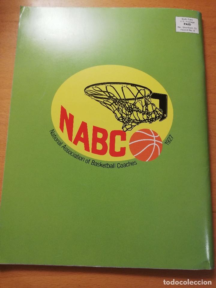 Coleccionismo deportivo: THE BASKETBALL BULLETIN. SPRING 1991 (NABC) - Foto 11 - 179962580