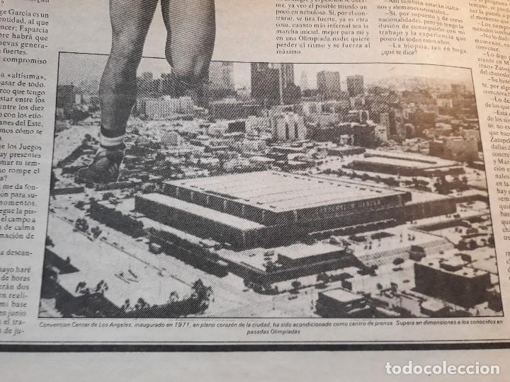 Coleccionismo deportivo: ATLETA ANTONIO PRIETO , QUIERO SUBIR AL PÓDIUM OLIMPICO -RECORTE DE PRENSA AÑO 1983 -HOJA - Foto 2 - 180164040