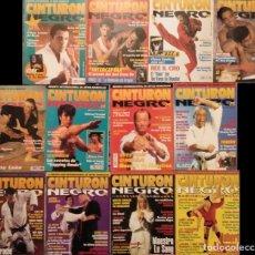 Coleccionismo deportivo: LOTE DE 13 REVISTAS DE ARTES MARCIALES ''CINTURÓN NEGRO'' (AÑOS 90). Lote 180211590