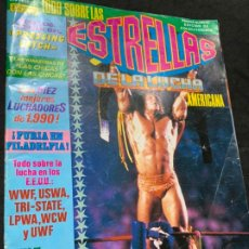 Coleccionismo deportivo: REVISTA ESTRELLAS DE LA LUCHA AMERICANA PRESSING CATCH WWF NUMERO 1. Lote 180221647
