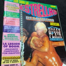 Coleccionismo deportivo: REVISTA ESTRELLAS DE LA LUCHA AMERICANA PRESSING CATCH WWF NUMERO 4. Lote 180221698