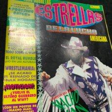 Coleccionismo deportivo: REVISTA ESTRELLAS DE LA LUCHA AMERICANA PRESSING CATCH WWF NUMERO 5. Lote 180221756