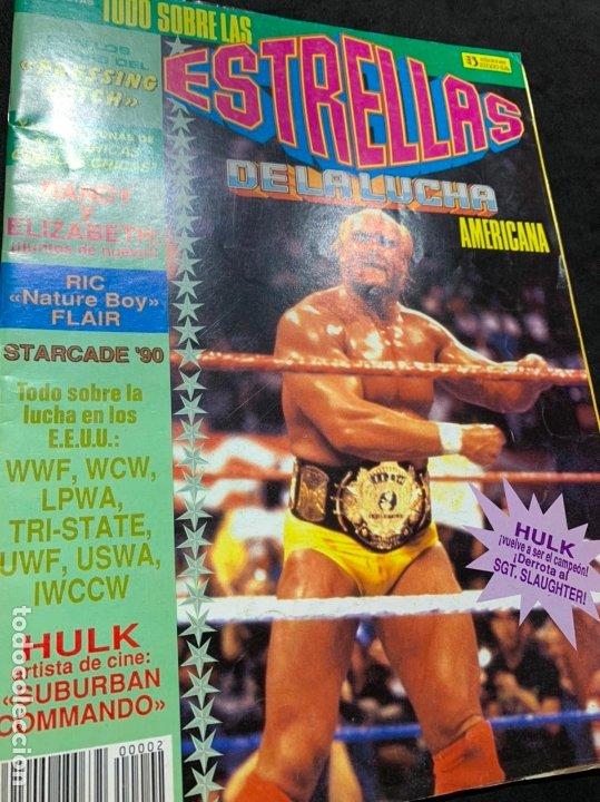 REVISTA ESTRELLAS DE LA LUCHA AMERICANA PRESSING CATCH WWF NUMERO 2 (Coleccionismo Deportivo - Revistas y Periódicos - otros Deportes)